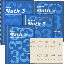 Saxon Math 3 - Home Study Kit