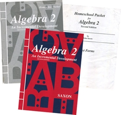 Saxon Algebra 2 - Home Study Kit (old)