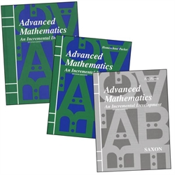 Saxon Advanced Mathematics - Home Study Kit
