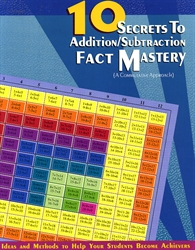 10 Secrets to Addition/Subtraction Fact Mastery