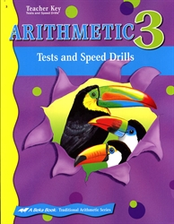 Arithmetic 3 - Tests/Speed Drills Key