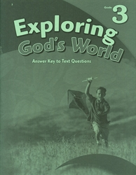 Exploring God's World - Answer Key