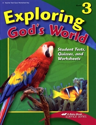 Exploring God's World - Test/Quiz Key