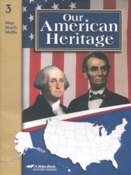 Our American Heritage - Map Skills Book