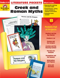 Literature Pockets: Greek & Roman Myths 4-6+