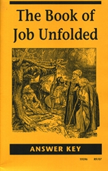 Book of Job Unfolded - Answer Key