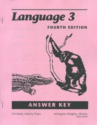 Language 3 - CLP Answer Key