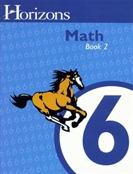 Horizons Math 6 - Book Two