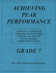 Achieving Peak Performance Grade 7 - Action Plan