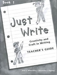 Just Write Book 1 - Teacher's Guide