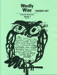 Wordly Wise Book 5 - Answer Key