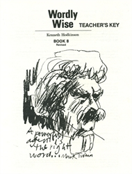 Wordly Wise Book 8 - Answer Key