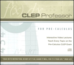 CLEP Professor for Pre-Calculus