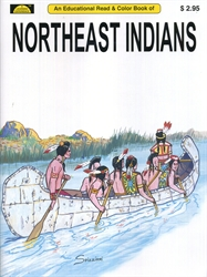 Northeast Indians - Coloring Book