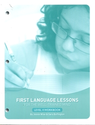 First Language Lessons Level 4 - Workbook