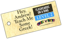 Hey, Andrew! Teach Me Some Greek! 2 - Flashcards