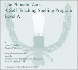 Phonetic Zoo Spelling Level A - CDs only (old)