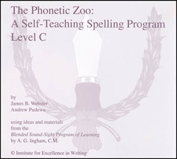 Phonetic Zoo Spelling Level C - CDs only (old)