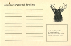 Phonetic Zoo Personal Spelling Cards