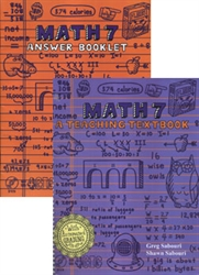 Teaching Textbooks Math 7 - Workbook & Answer Key