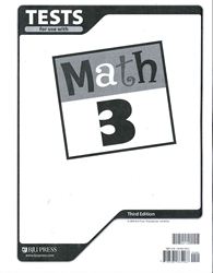 Math 3 - Tests (Old)