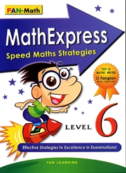 Math Express Speed Math Strategies - Level 6