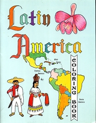 Latin America Coloring Book