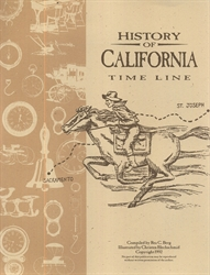 History of California - Timeline