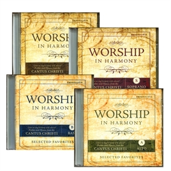 Worship in Harmony - CD