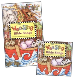 Wee Sing Bible Songs - Book and CD