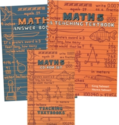 Teaching Textbooks Math 5 - Complete Set