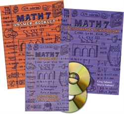 Teaching Textbooks Math 7 - Complete Set
