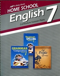 English 7 - Home School Curriculum