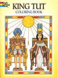 King Tut - Coloring Book