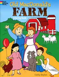 Old MacDonald's Farm - Coloring Book