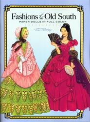 Fashions of the Old South - Paper Dolls