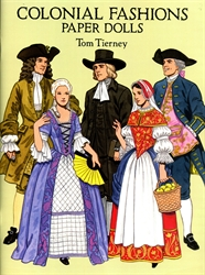 Colonial Fashions - Paper Dolls