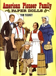American Pioneer Family - Paper Dolls