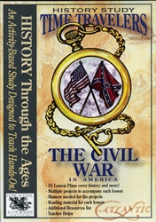 Time Travelers: Civil War - CD-ROM