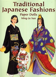 Traditional Japanese Fashions - Paper Dolls