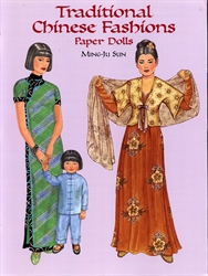 Traditional Chinese Fashions - Paper Dolls