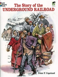 Story of the Underground Railroad - Coloring Book
