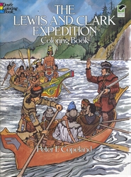 Lewis & Clark Expedition - Coloring Book
