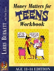 Money Matters for Teens - Workbook (Ages 11-14)
