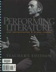 Performing Literature - Teacher's Edition
