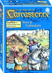 Carcassonne - Inns & Cathedrals (old edition)