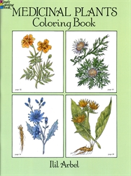 Medicinal Plants - Coloring Book