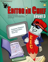 Editor in Chief Level 3