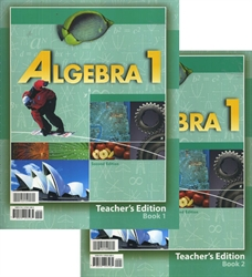 Algebra 1 - Teacher Edition (old)
