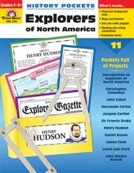 History Pockets: Explorers of North America